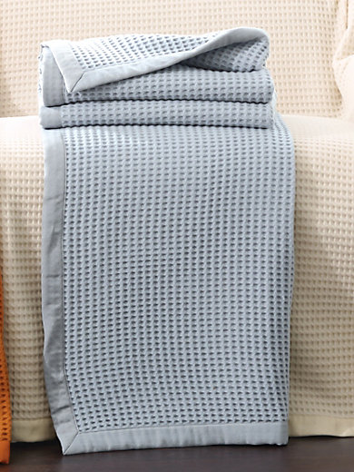 Lanerossi - La couverture en pure laine vierge, env. 160x220cm