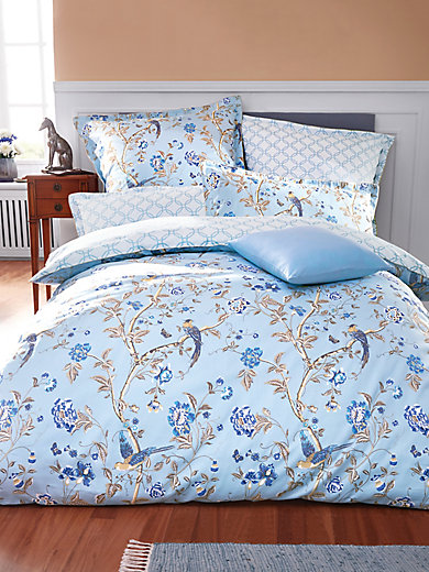 laura ashley la housse de couette env 135x200 cm bleu ciel blanc. Black Bedroom Furniture Sets. Home Design Ideas
