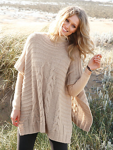 Peter Hahn Cashmere Nature - Le poncho