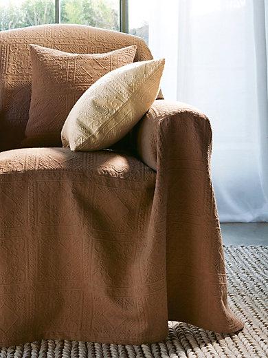 Peter Hahn - Le jeté de canapé et lit, 270x250cm