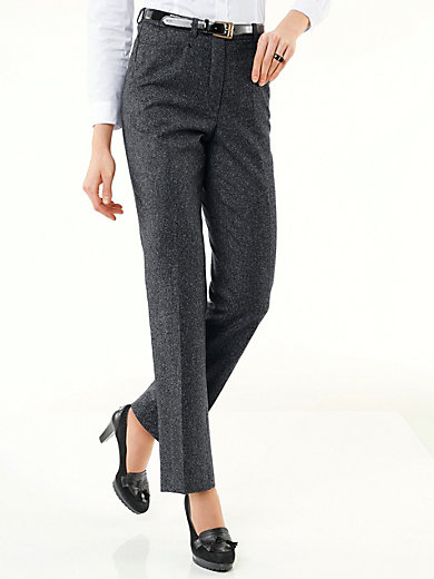 Peter Hahn - Le pantalon en tweed, coupe CORNELIA