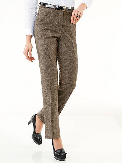 Peter Hahn - Le pantalon en tweed, coupe CORNELIA