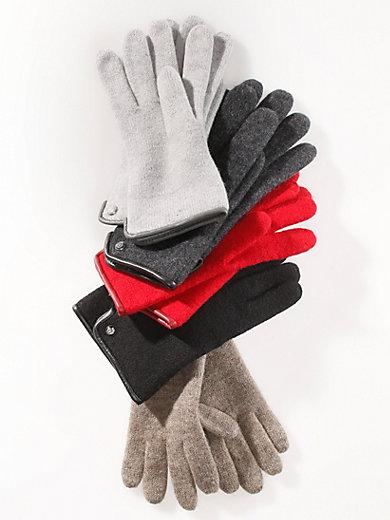 Roeckl - Les gants en pure laine vierge foulée