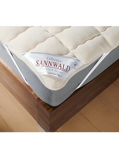 Sannwald - Le surmatelas en laine vierge, 90x200cm