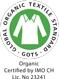 GOTS : Confection Textile respectueuse de l'environnement et socialement responsable